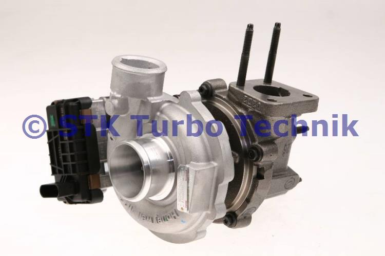 Turbolader Turbo Chrysler Voyager III 2.5 CRD 141 PS VA67